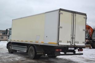 Шторный грузовик Iveco EuroCargo 75Е17