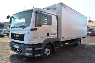Грузовой изометрический фургон MAN TGL 12.180 BB. Год выпуска 2013.