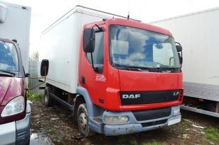 Грузовой изотермический фургон DAF LF 45.130. Год выпуска 2005.