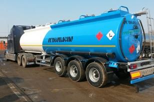 Цистерна 3-х осная бензовоз FoxTank ППЦ-32
