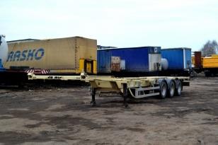 Полуприцеп контейнеровоз Grunwald 2012 год