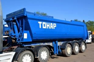 Самосвальный полуприцеп Тонар 9523 – 2007 года выпуска