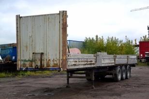 Полуприцеп бортовой МАЗ 975830-3012