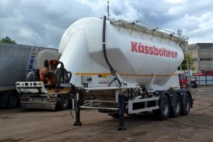 Полуприцеп алюминиевый цементовоз KASSBOHRER SSL