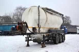 Полуприцеп цистерна-цементовоз KASSBOHRER SSL 35