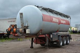 Полуприцеп цистерна для перевозки сыпучих продуктов Feldbinder KIP42.3
