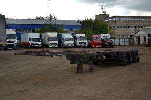 KEGEL SW 24 полуприцеп контейнеровоз (раздвижной) 2007г.в.