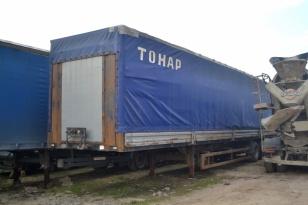 Полуприцеп бортовой тентованный (П-образная штора) Тонар – 974611