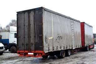 Продается шторный 2-х осный прицеп REM TRAILOR