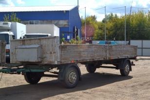 МАЗ 837300-3012 прицеп бортовой 2012 года выпуска.