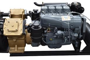 Компрессор GlobalTech Makina A220-2 c дизельным двигателем