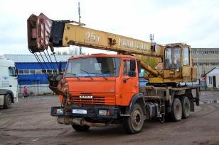 "Автокран КАМАЗ 65115 ""Галичанин"" КС-55713-1"