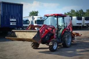 Многофункциональный трактор TYM T433 «экскаватор погрузчик»