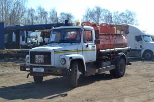 Автотопливозаправщик АТЗ-4,9 на шасси ГАЗ-3309