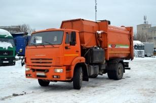 Мусоровоз с боковой загрузкой кузова МК-4454-26 на шасси КАМАЗ-53605-L4