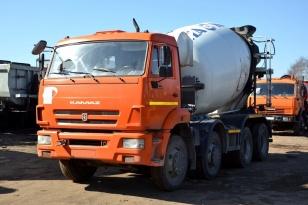 Автобетоносмеситель 58147Y шасси КАМАЗ 6540-L4