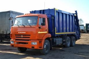 Мусоровоз БМ-7028-13 на шасси Камаз-65115