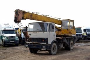 Автокран КС-3577-3 «Ивановец» на шасси МАЗ 55337
