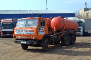 Илосос ассенизатор КО-504 на шасси Камаз 53213