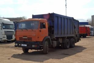 Мусоровоз БМ-53229 на шасси Камаз 65115-62