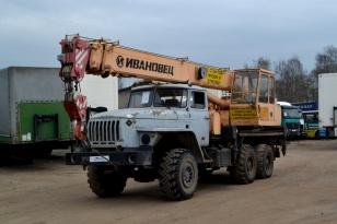 Автокран КС-35714К-3 «Ивановец» на шасси Урал 4320 (вездеход)