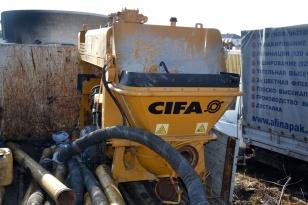 Стационарный бетононасос CIFA РС 307/D6