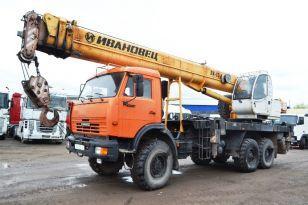 Автокран КамАЗ-43118 «ИВАНОВЕЦ» КС-45717К-3Р. Год выпуска 2012.