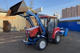 Погрузочно-уборочный Трактор МТЗ 320