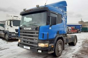 SCANIA P114 грузовой тягач седельный