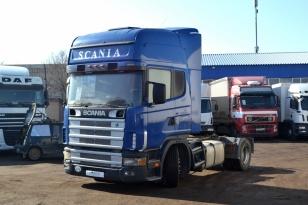 Седельный тягач Scania R124LA