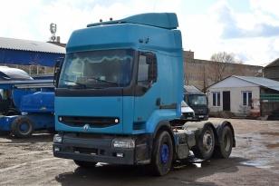 Седельный тягач Renault Premium 6х2 420 DCI