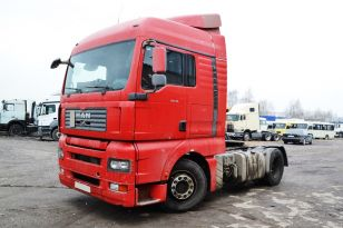 Седельный тягач MAN TGA 18.480 4x2 BLS. Год выпуска 2008.