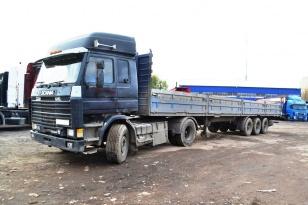 Тягач Scania 142м Год выпуска 1988.