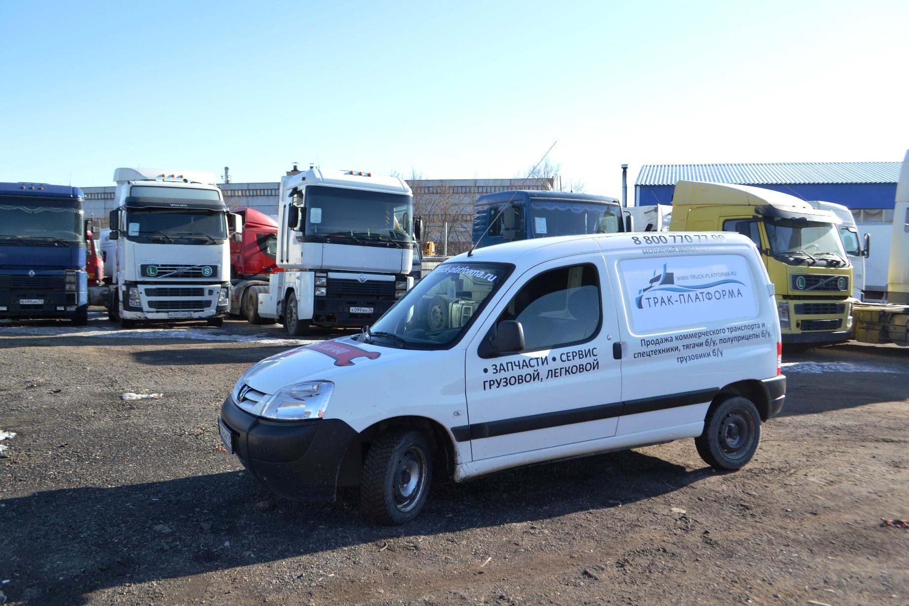 грузовиков фургонов peugeot partner