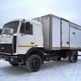 Грузовик изотермический МАЗ Купава 573100. Год выпуска 2007.