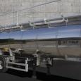 Пищевая цистерна из нержавеющей стали OKT-Trailer