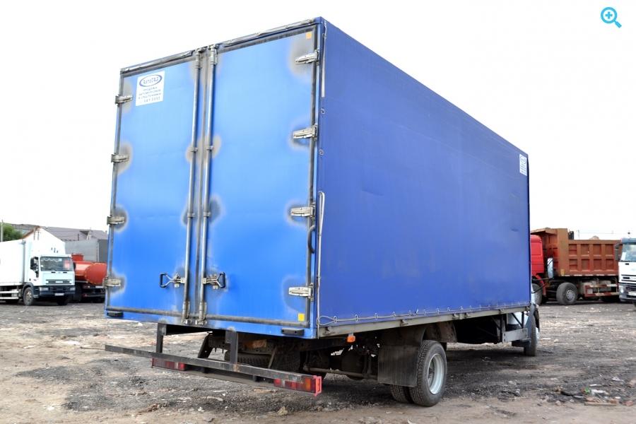 Тентовый грузовик Газ Валдай 2013 год