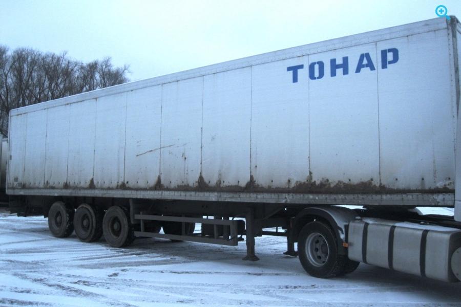 Полуприцеп изотермический Тонар 9746. 2008 года выпуска.