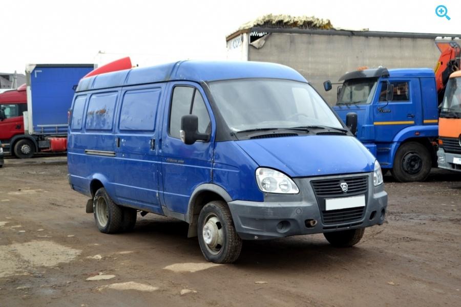 Промтоварный фургон MAN 25-322. Год выпуска - 1993.