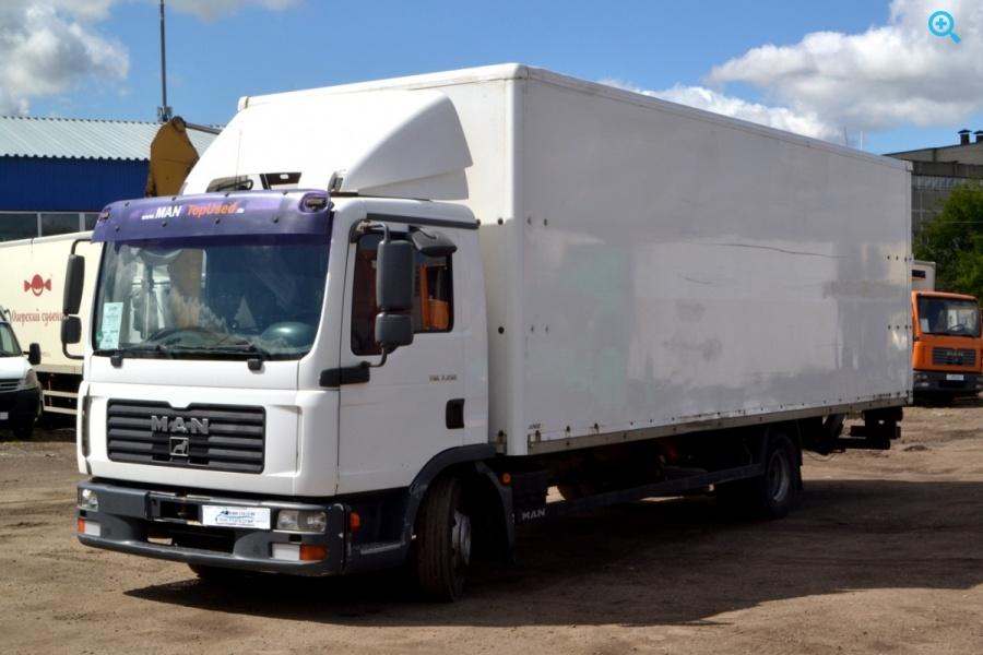 Грузовой фургон MAN TGL 7.150. Год выпуска 2006.