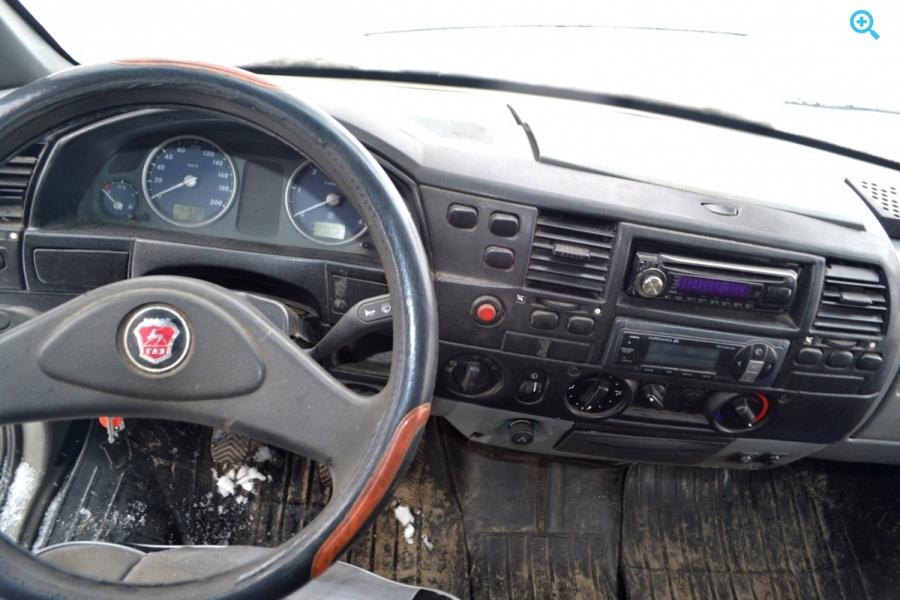 Грузовик тентованный ГАЗ 3302