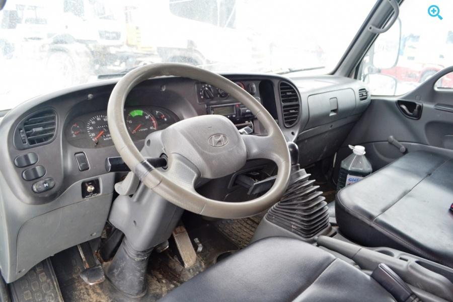 Грузовик рефрижератор Hyundai HD78. Год выпуска 2009.