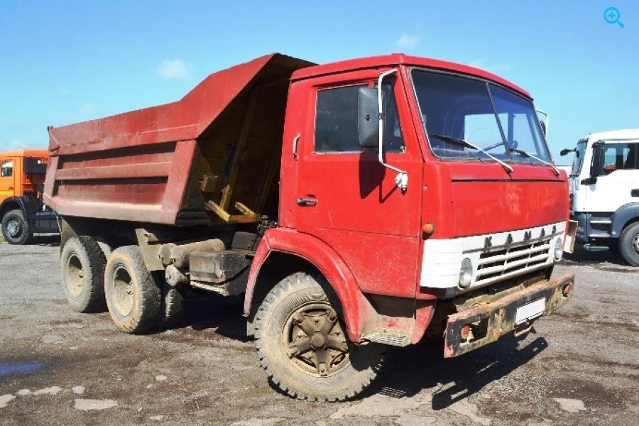 Грузовик самосвал КАМАЗ-5511. Год выпуска 1988.