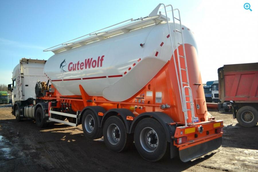 Новый цементовоз GuteWolf. Год выпуска 2018.