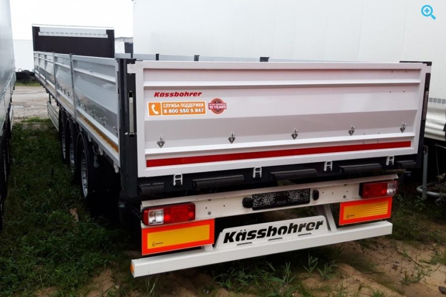 Kässbohrer  SPL Бортовая Платформа