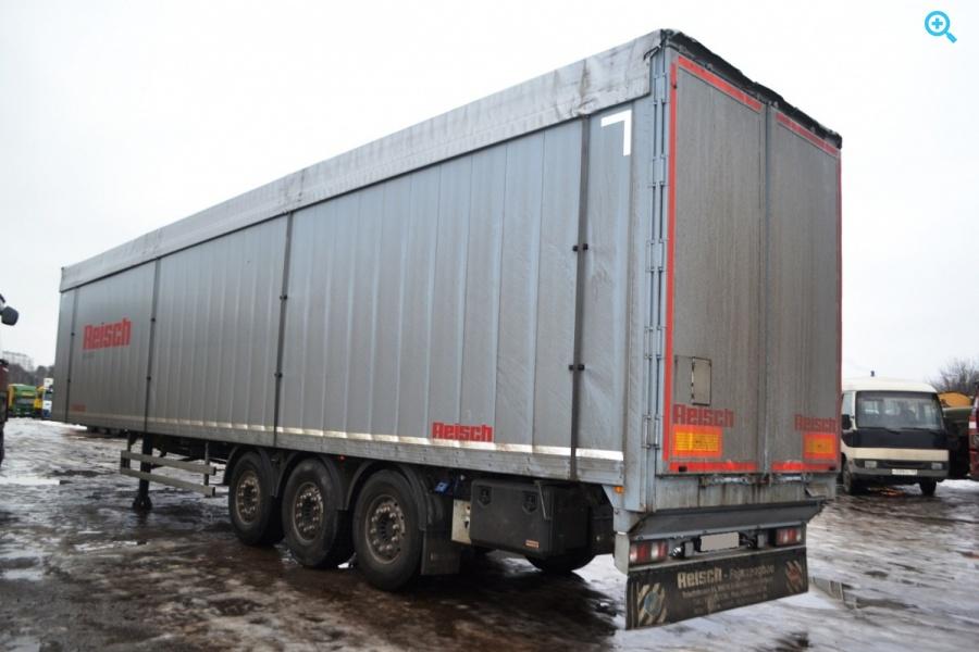 Полуприцеп Щеповоз алюминиевый Martin Reisch RSBS-35/24LK Год выпуска 2016.