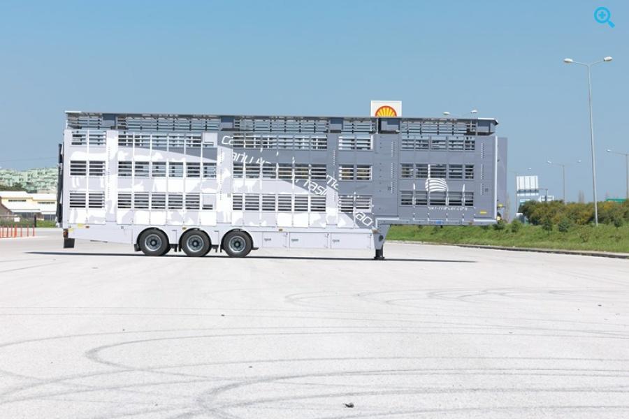 Алюминиевый скотовоз OKT Trailer