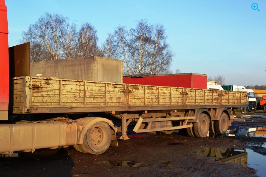 Бортовой полуприцеп МАЗ 938662, год выпуска 2008.