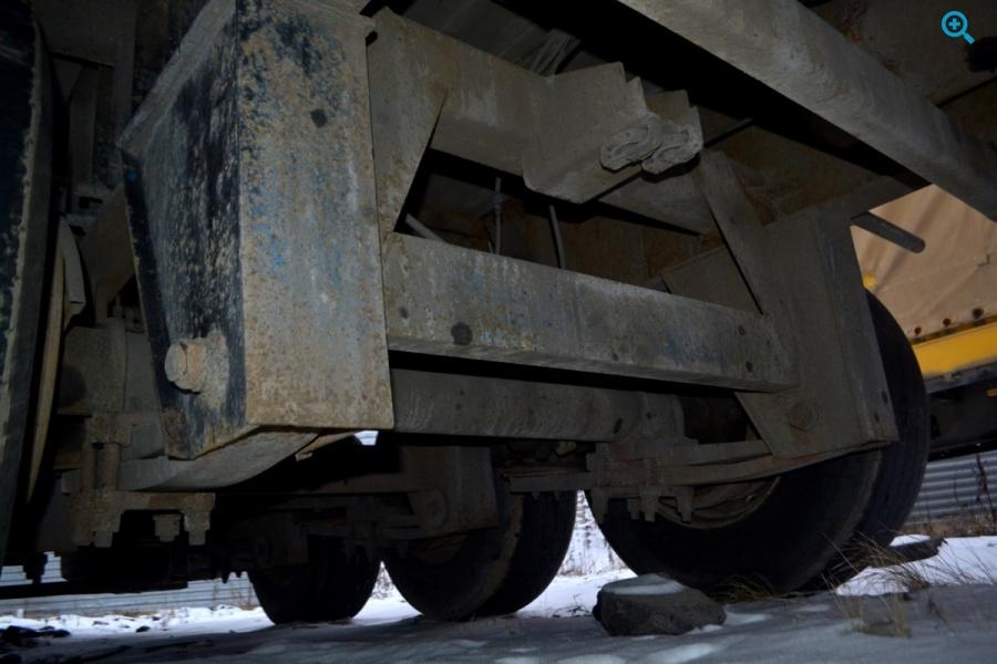 Полуприцеп бортовой МАЗ 9758