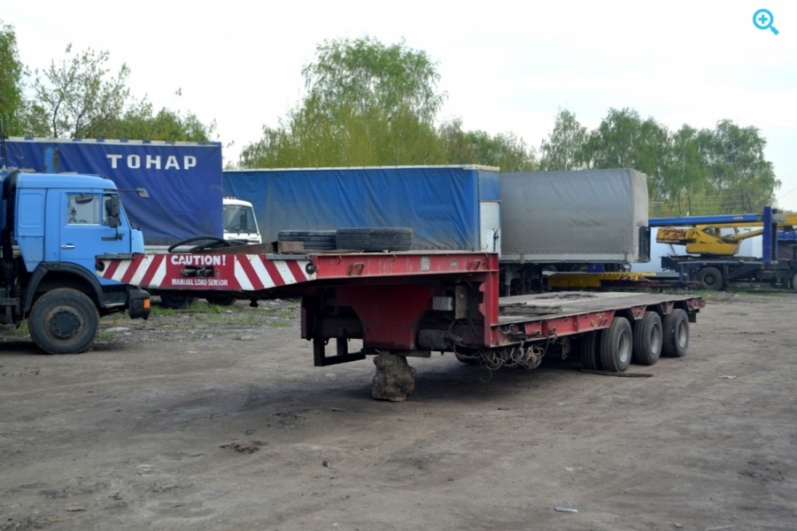Полуприцеп автовоз ROLFO B1SAAS. Год выпуска 2007.